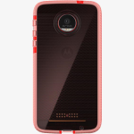 Tech21 Evo Check FlexShock Case for Moto Z Force Droid - Rose Pink/White