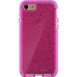 Tech21 Evo Check Active Edition Case for Apple iPhone 7 - Pink / White with Black Spots