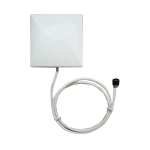 TerraWave 2.4G-2.5 GHz 8.5dBi Patch Antenna (White)