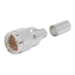 Times Microwave - F Male X Series NO-BRAID-TRIM Advantage Connector