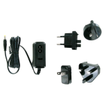 Unlimited Cellular International Travel Charger Kit for Sony Tablet P, Sanyo Camcorders: VPC-SH1 (Black) - TCK-C2000