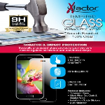 Xfactor Tempered Glass Screen Protector - LG Stylo