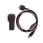 SellNet Travel Kit Charger & USB Cable for Treo 600, 270, 300 (Black) - TK-3180