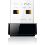 TP-LINK 150Mbps Wireless N Nano USB Adapter - TL-WN725N