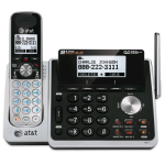 AT&T Dect 6.0 2-Line Cordless Phone with Answering System