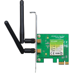 TP-LINK 2.4GHz 300Mbps Wireless N300 PCI Express Adapter - TLWN881ND