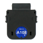 iGo A108 Power Tip for Samsung K5, YP-K3, YP-K5, YP-T9 (Black) - TP06108-0001