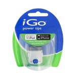 iGo A133 30-Pin Dock Connector Power Tip for iPod and iPhones (White) - TP06133-0001