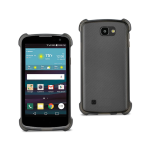 Reiko LG Spree Clear Bumper Case With Air Cushion Protection In Clear Black