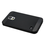 Reiko - TPU/PC Protector Cover for Samsung Galaxy S5 - Black