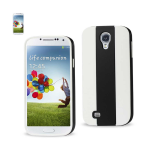 Reiko - TPU/PC Colorful Protector Cover for Samsung Galaxy S$ - Black/White
