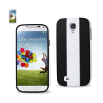 Reiko - TPU/PC Colorful Protector Cover for Samsung Galaxy S4 - White/Black