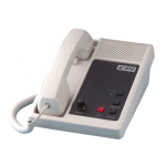 CPI Comm. Desk Tone Remote with 4W full Duplex - TR20-FD