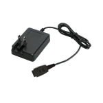 OEM UTStarcom CDM-8955 Travel Wall Charger w/ Folding Blades (Black) - TRC-8955