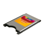 Transcend Information - Compact Flash to PCMCIA adapter