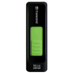 Transcend JetFlash 760 16 GB USB 3.0 Flash Drive up to 52MB/s - (Black and green) -TS16GJF760