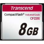 Transcend CF220I 8 GB CompactFlash - 42 MB/s Read - 40 MB/s Write