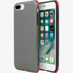 Tumi Protection Case for Apple iPhone 7 Plus ??? Brushed Gunmetal/Red