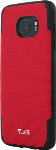 TUMI Coated Canvas Co-Mold Case for Samsung Galaxy S7 edge - Red