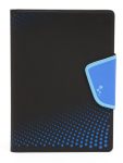 M-Edge Sneak Folio Case Cover for X-Large Devices (Black/Blue) - U10-SK-MF-BB