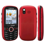Samsung Intensity SCH-U450 Replica Dummy Phone / Toy Phone (Red) (Bulk Packaging)