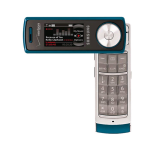 Samsung Juke SCH-U470 Replica Dummy Phone / Toy Phone (Teal) (Bulk Packaging)