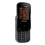 Samsung Trance U490 Replica Dummy Phone / Toy Phone (Black) (Bulk Packaging)