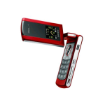 Samsung FlipShot SCH-U900 Replica Dummy Phone / Toy Phone (Red) (Bulk Packaging)