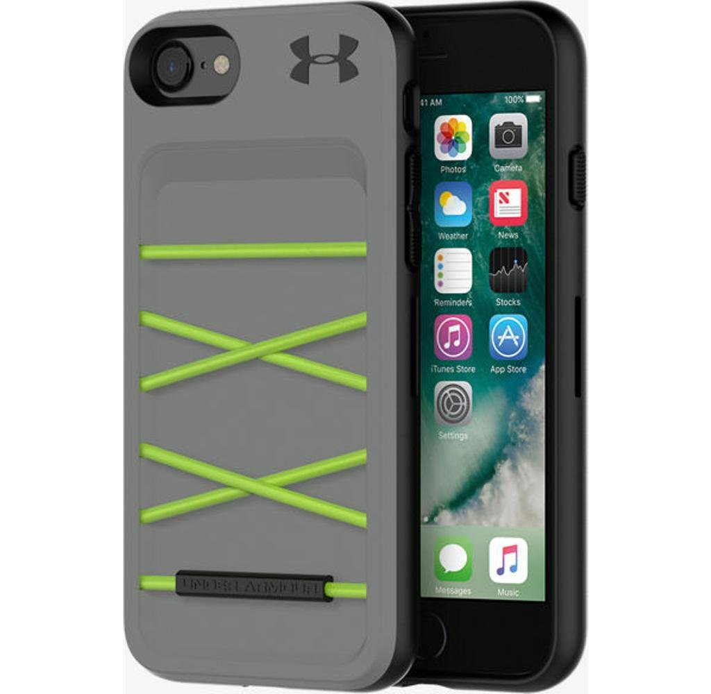 cheaper f4d2d 7fbb7 Under Armour UA Protect Arsenal Case for iPhone 8/7 - Graphite/Quirky Lime