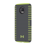 Under Armour UA Protect Grip Case for moto z2 force edition - Gray/Yellow