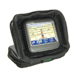 Bracketron UFM-300-BX GPS NAV-PACK Weighted GPS Dash Mount/Carrying Case - Black