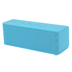 Urge Basics - Soundbrick Ultra Portable Bluetooth Stereo Speaker with Built-in Mic - Blue