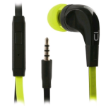 UMA Stereo Earbuds with Handsfree (Green/Black)