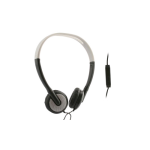 UMA - Lightweight Universal Stereo Headphones 3.5mm - Black/Silver