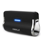 iWalk 2500mAh Emergency Battery Pack with built in Micro USB Connector for All Micro USB Mobile Devices - UNC010M-BLACK