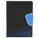 UNIVERSAL M-EDGE SNEAK FOLIO 9IN TO 10IN TABLETS BLACK WITH BLUE