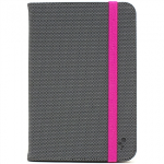UNIVERSAL M-EDGE FOLIO PLUS 7IN TO 8IN TABLET - GREY/PINK