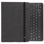 UNIVERSAL M-EDGE FOLIO POWER PRO WITH KEYBOARD 7IN TO 8IN TABLET - HEATHER GREY/BLACK