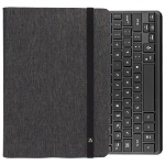 UNIVERSAL M-EDGE FOLIO POWER PRO WITH KEYBOARD 9IN TO 10IN TABLET HEATHER GREY/BLACK