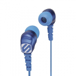 SCOSCHE THUDBUDS HANDSFREE EARBUDS WITH 3.5MM JACK - BLUE