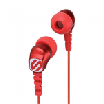 SCOSCHE THUDBUDS HANDSFREE EARBUDS WITH 3.5MM JACK - RED