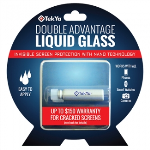 TekYa Double Advantage Universal Screen Protector - Liquid Glass - $150 Screen Replacement Guarantee