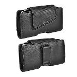 Verizon Universal Leather Pouch with Magnetic for Samsung Galaxy S3 (Black)