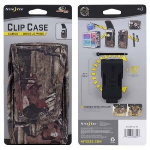 NITE IZE NYLON VERTIAL CLIP CASE CARGO POUCH WITH CLOSURE - DOUBLE WIDE MOSSY OAK
