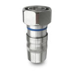 JMA Wireless DIN Male Straight Compression Connector-Trilogy