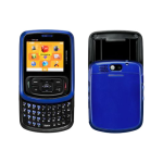 Pantech TXT8010 Replica Dummy Phone / Toy Phone (Black/Blue) (Bulk Packaging)