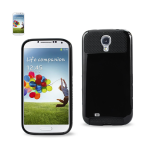 Reiko - Aluminum and Silicone Case for Samsung Galaxy S4 - Black