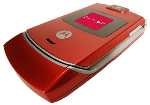 OEM Motorola V3 V3g Razr Faceplate Housing kit - Red