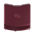 MOTOROLA V3C Battery Door (Burgundy)