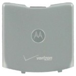 OEM Motorola Razr V3c Battery Door - Silver